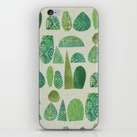 Watercolour Topiary iPhone & iPod Skin