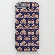 Blue & Peach Daisies Slim Case iPhone 6s