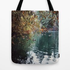 Heavenly Pond in Franklin Canyon Park, CA Tote Bag