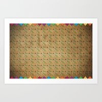 Mexican Pattern Art Print