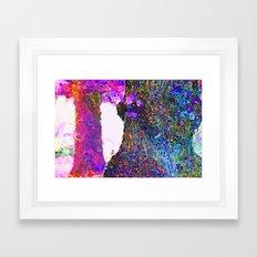 Tree Burst Framed Art Print