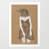 ANIMAL INSTINCTS -BIRD G… Art Print