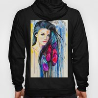 Colorful Feathers  Hoody