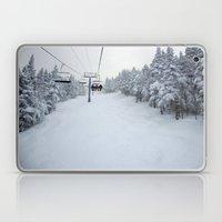Skiing Vermont Laptop & iPad Skin