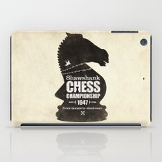 Shawshank Chess Championship iPad Case