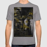 Golden In His Eyes Mens Fitted Tee Athletic Grey SMALL