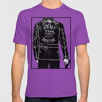 The Army Doctor Mens Fitted Tee Ultraviolet SMALL