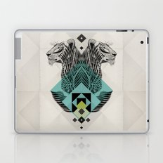 Blue Leopard Laptop & iPad Skin