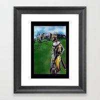 LeBron James, Return Of … Framed Art Print