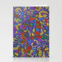 - summer mind - Stationery Cards