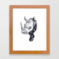 Rhinhost Framed Art Print