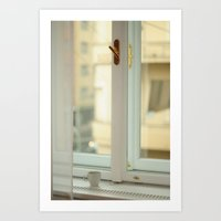 Start Your Day in Praque Art Print