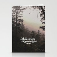 Wilderness Hope x John Muir Stationery Cards