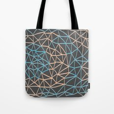 Non-linear Points Tote Bag