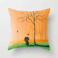 I remember us Throw Pillow