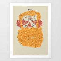 Der Bart Art Print