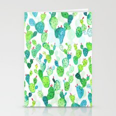 Watercolour Cacti Stationery Cards
