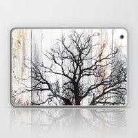 Tree Silhouette on Wood Laptop & iPad Skin
