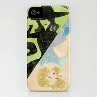 iPhone 4s & iPhone 4 Cases featuring Wicked by Serena Rocca