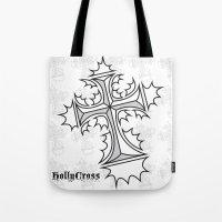 Hollycross Logo Tote Bag