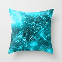 Dazzling Series (SkyBlue) Throw Pillow