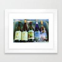 Vino Time Framed Art Print