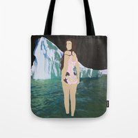 Glacial Pace Tote Bag