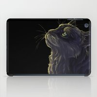 Cat and the light  iPad Case