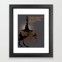 Roland's Quest Framed Art Print