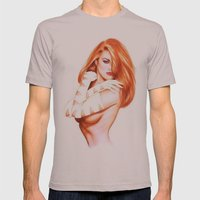 NUDWOM Mens Fitted Tee Cinder SMALL