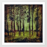 Forest 2 Art Print