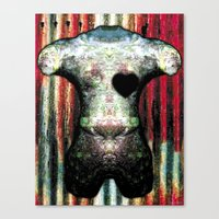 HEARTBURN Canvas Print