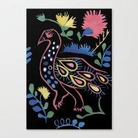 Mexican Bird Canvas Print