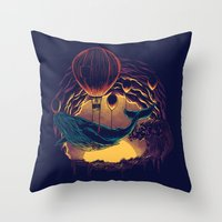 Swift Migration Throw Pillow