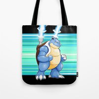 Water Pocket Monster #009 Tote Bag