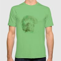 Silence #1 Mens Fitted Tee Grass SMALL