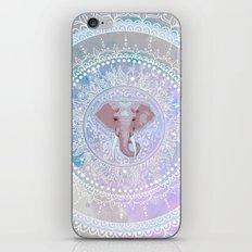 elephant mandala iPhone & iPod Skin