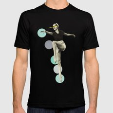 The Rules of Dance I Black Mens Fitted Tee SMALL