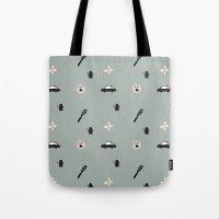 Kitchen Story Pattern Tote Bag