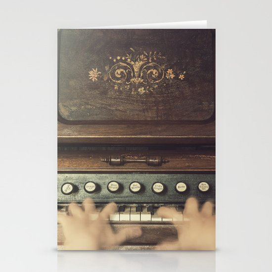 Frantic at the Keys Stationery Card