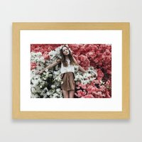 Emily in Reverie Framed Art Print