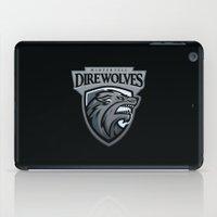 Winterfell DireWolves iPad Case