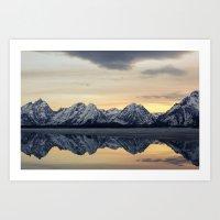 Grand Reflection  Art Print