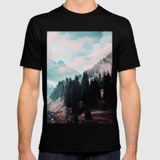 The Juxtaposed Creation #society6 #decor #buyart SMALL Mens Fitted Tee Black