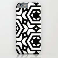iPhone & iPod Case featuring Vogelaar Black & White Pattern by Stoflab