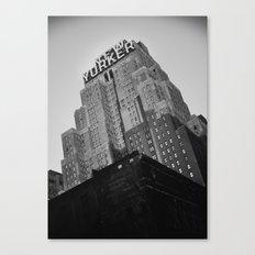 New York No. 2 Canvas Print