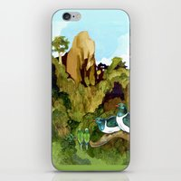 Love Under The Mountain iPhone & iPod Skin