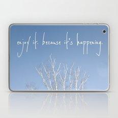 perks of being a wallflower - life is happening Laptop & iPad Skin