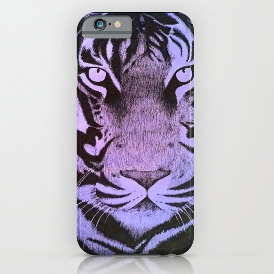 Be a Tiger (Purple) iPhone & iPod Case