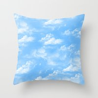 Noon Throw Pillow
